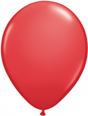 Qualetex Red Balloons 6 Pack